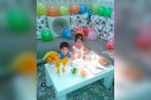 Ihre beiden Kinder im Irak – Geburtstagsfeier