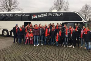 Volleyball Bundesliga Bühl Bisons on Tour