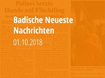 Badische Neueste Nachrichten - 01.10.2018
