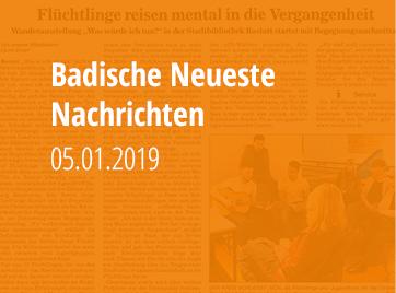 Badische Neueste Nachrichten - 05.01.2019