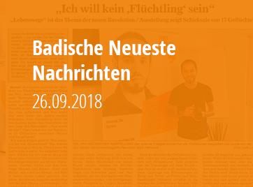 Badische Neueste Nachrichten - 26.09.2018