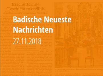 Badische Neueste Nachrichten - 27.11.2018