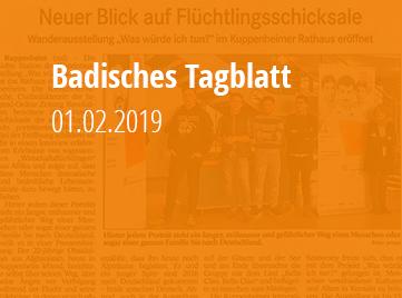 Badisches Tagblatt - 01.02.2019