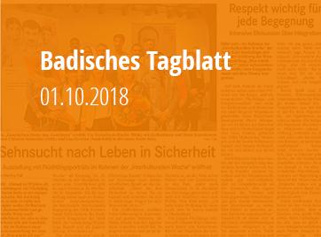 Badisches Tagblatt - 01.10.2018