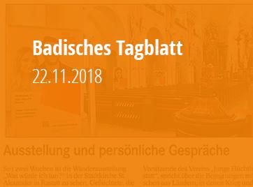 Badisches Tagblatt - 22.11.2018