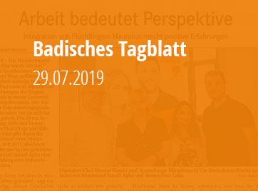 Badisches Tagblatt - 29.07.2019